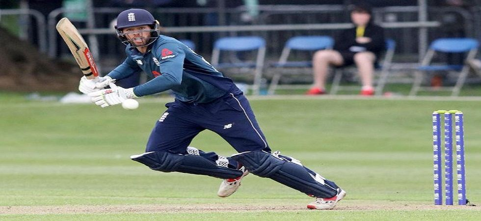 Ben Foakes scored a fifty on debut as England survived a tricky contest against Ireland to win by four wickets in Dublin. (Image credit: Twitter)