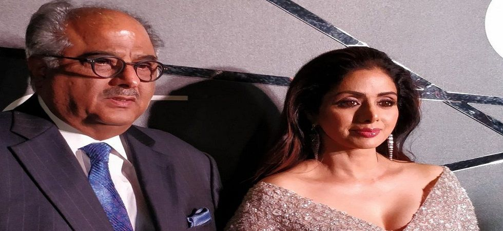 Watch: Boney Kapoor almost chokes when talking about Sridevi