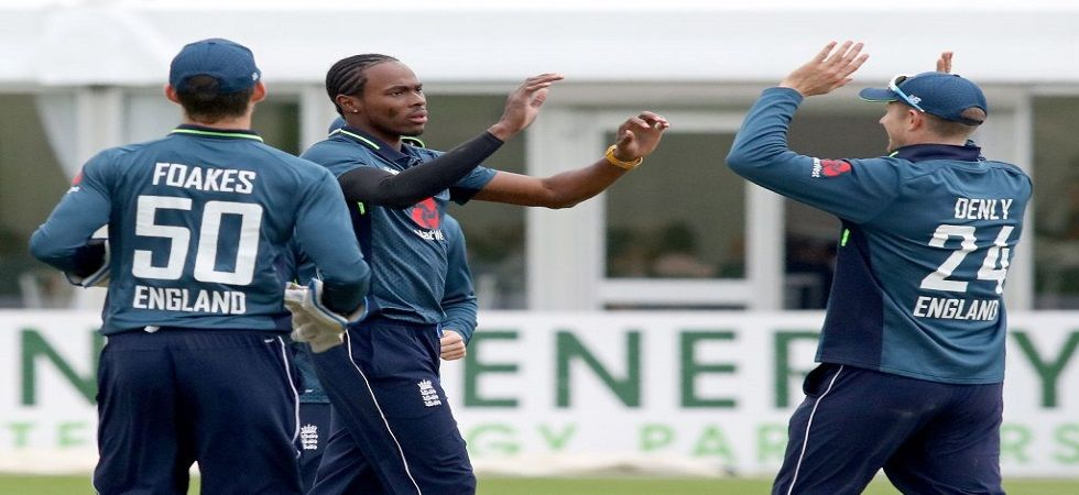 Jofra Archer made his ODI debut against Ireland (Image Credit: Twitter)