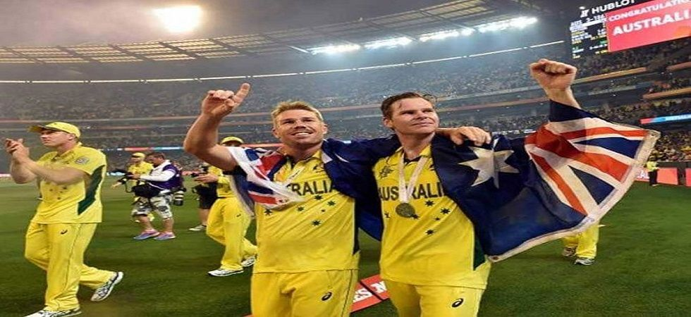 Steve Smith and David Warner returned as Australia won by one wicket against New Zealand in their warm-up game in Brisbane. (Image credit: Twitter)