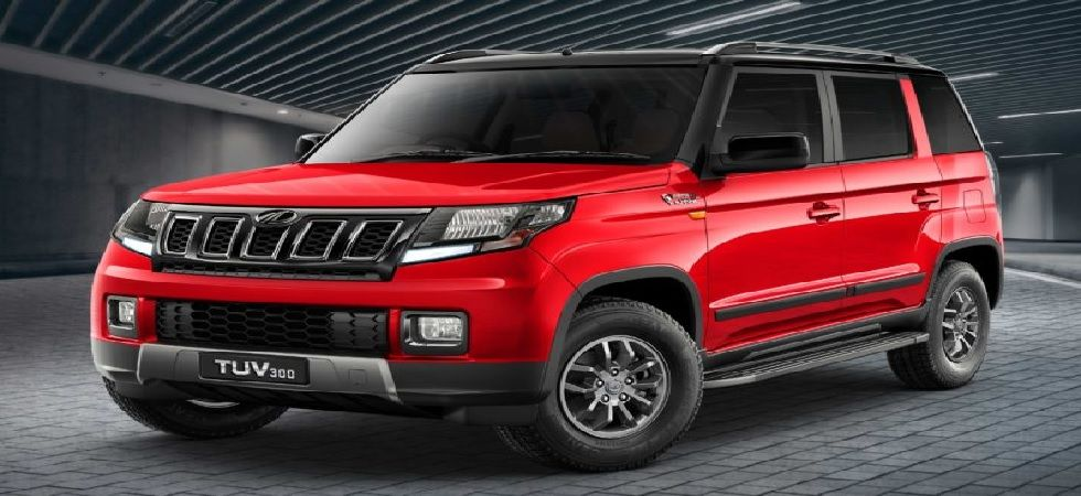 SUV TUV300 comes with reverse parking camera, 17.8 cm infotainment system with GPS, static bending headlamps (Photo: Twitter)