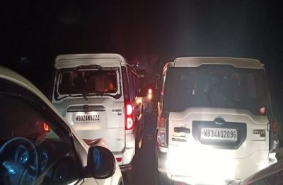 Convoy of Himanta Biswa Sarma, Dilip Ghosh attacked in West Bengal's Purba Medinipur
