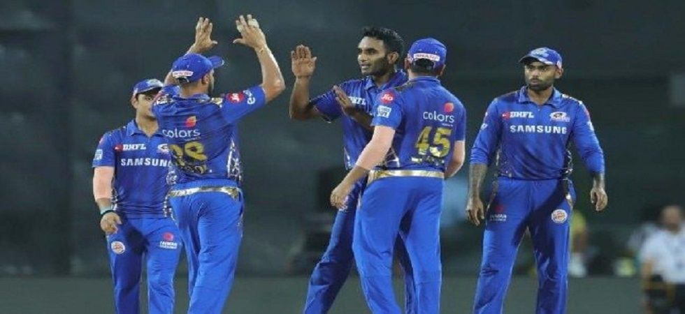 Jayant Yadav took 1/25 in four overs as Mumbai Indians defeated Chennai Super Kings by six wickets to reach the final of IPL 2019. (Image credit: Twitter)