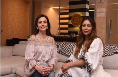 Gauri Khan collaborates with Nita Ambani for Antilia's lounge area