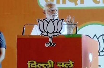 AAP brought 'nakampanthi' model of governance to Delhi: PM Modi at Ramlila Maidan