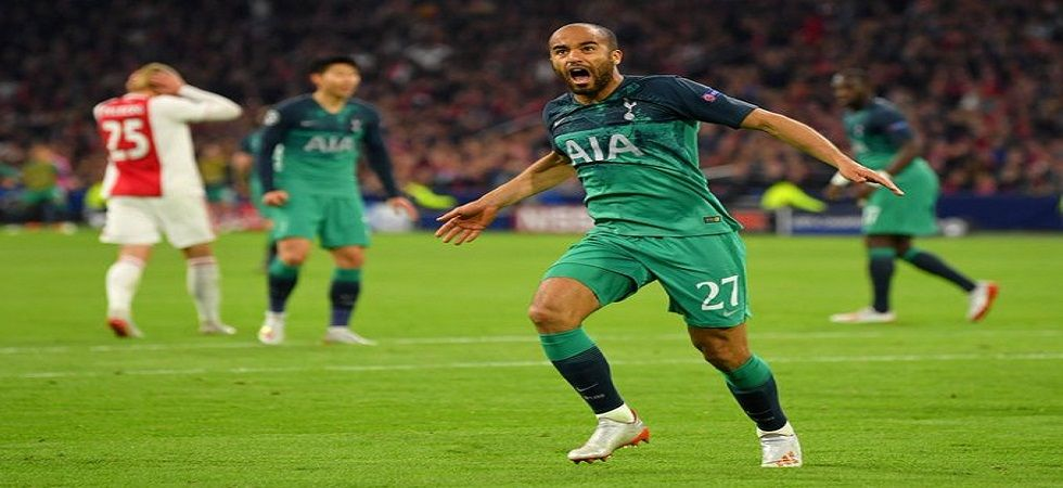 Lucas Moura's hat-trick gave Tottenham Hotspur a 3-2 win against Ajax and they qualified for the final of the UEFA Champions League due to the away goals rule. (Image credit: Twitter)
