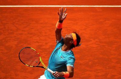 Rafael Nadal progresses in Madrid Open, David Ferrer retires