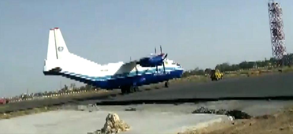 Antonov AN-12 heavy cargo plane (ANI/Twitter)