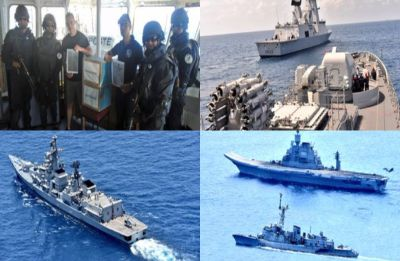 Varuna 2019: With one eye on China, India and France hold naval exercise in Goa