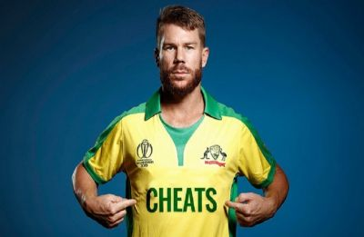 England's Barmy Army releases David Warner Australia jersey with 'cheats' written on it