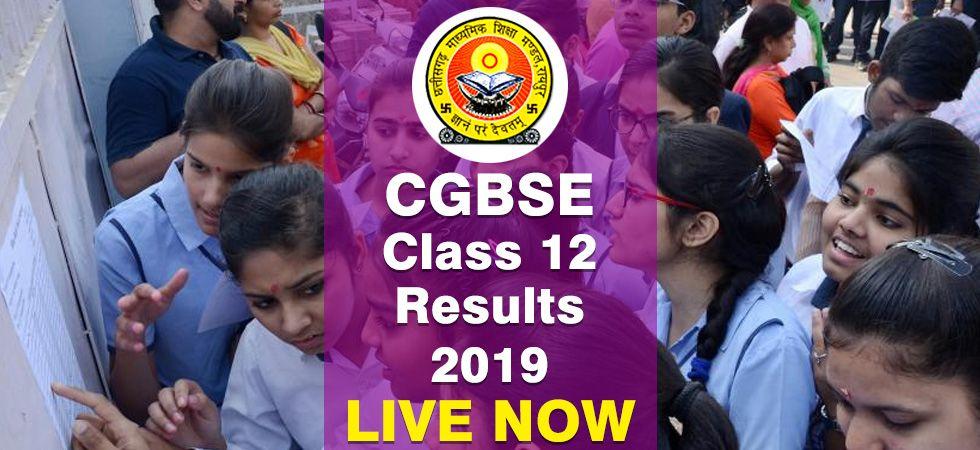 Chhattisgarh Board 12th Result 2019.