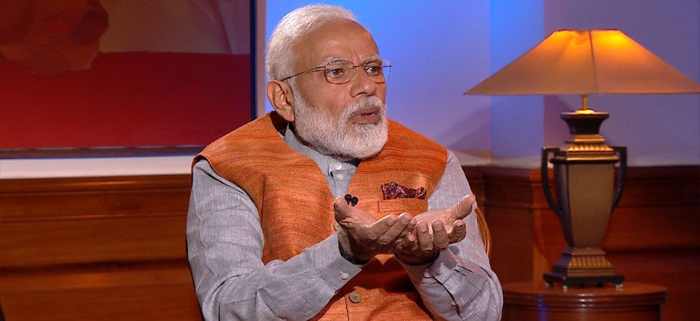 PM Modi said he never thought about living a luxurious lifestyle. (Image Credit: News Nation)