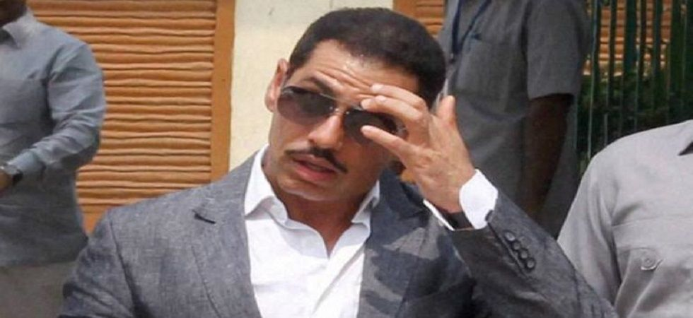 Robert Vadra, the brother-in-law of Congress president Rahul Gandhi.