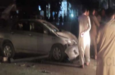 Pakistan: At least four policemen killed, ten others injured in blast near police van in Quetta