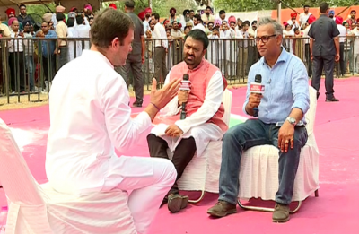 Rahul Gandhi on News Nation: 'I don't hate PM Modi, fighting against his ideology'