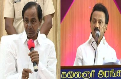 For Third Front push, Telangana Chief Minister KRC to meet DMK chief MK Stalin in Chennai today