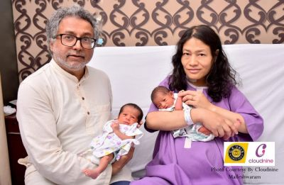 Civil rights activist Irom Sharmila gives birth to twin girls on Mother's Day