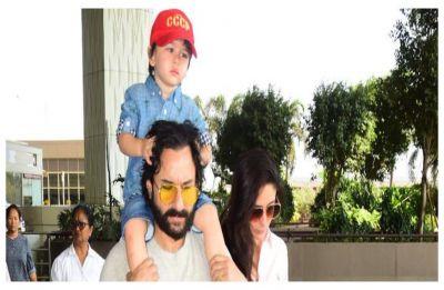 Saif Ali Khan opens up about his son Taimur Ali Khan's Bollywood debut