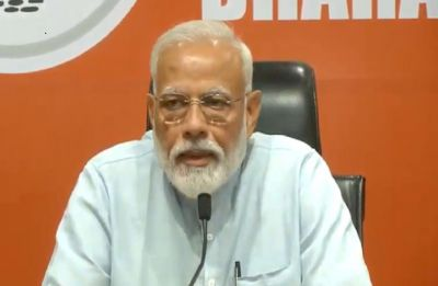 Elections LIVE | PM Modi addresses his first-ever press conference at BJP headquarters in Delhi