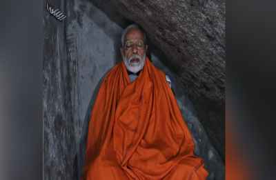 After 'darshan', 'puja' at Kedarnath Shrine, PM Modi meditates inside holy cave