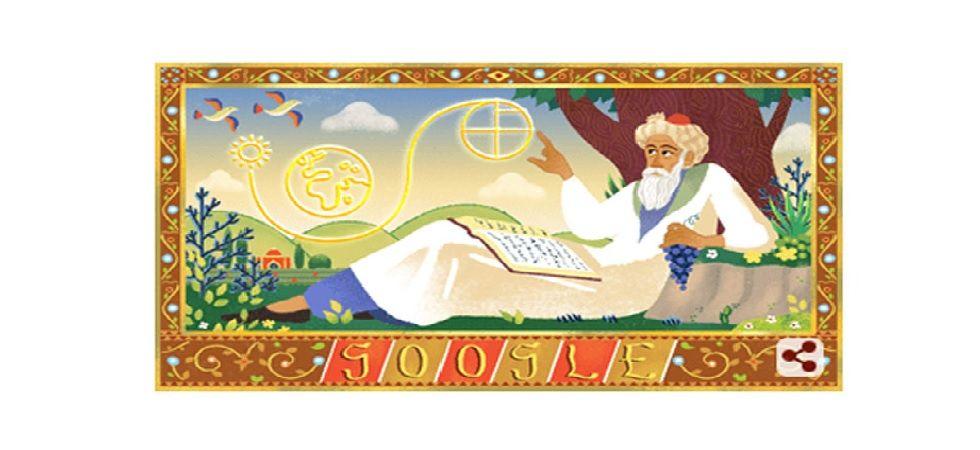 Khayyam was born on May 18, 1048 in Nishapur in north-east Iran