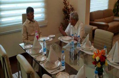 Chandrababu Naidu continues efforts to consolidate Opposition, meets Left's Sitaram Yechuri
