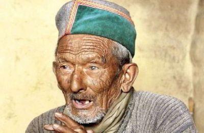 India's 'first' voter Shyam Saran Negi, 102, casts vote in Himachal Pradesh's Kinnaur
