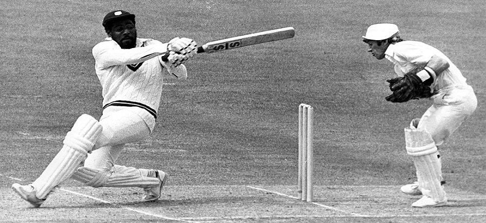 Sir Viv Richards blasted a magnificent century in the final as West Indies routed England to win the World Cup for the second time in the 1979 edition. (Image credit: Twitter)