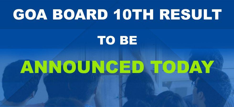 Goa Board SSC Result 2019.