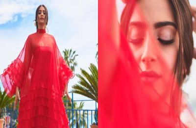Sonam Kapoor looks red HOT in her first Cannes 2019 appearance, see PICS