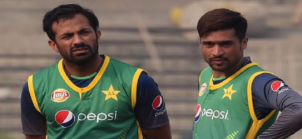 Wahab Riaz and Mohammad Amir will be available before the first warm-up game (Image Credit: Twitter)