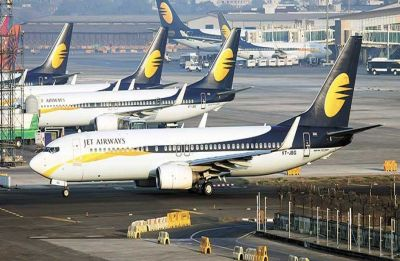 Jet Airways employees reach Aviation Ministry door, protest job losses