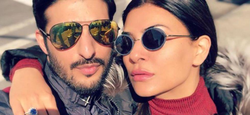 Sushmita Sen with boyfriend Rohman Shawl./ Image: Instagram