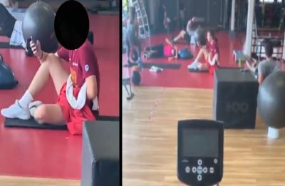 Man banned from gym for life after being caught masturbating near woman doing squats | WATCH viral video