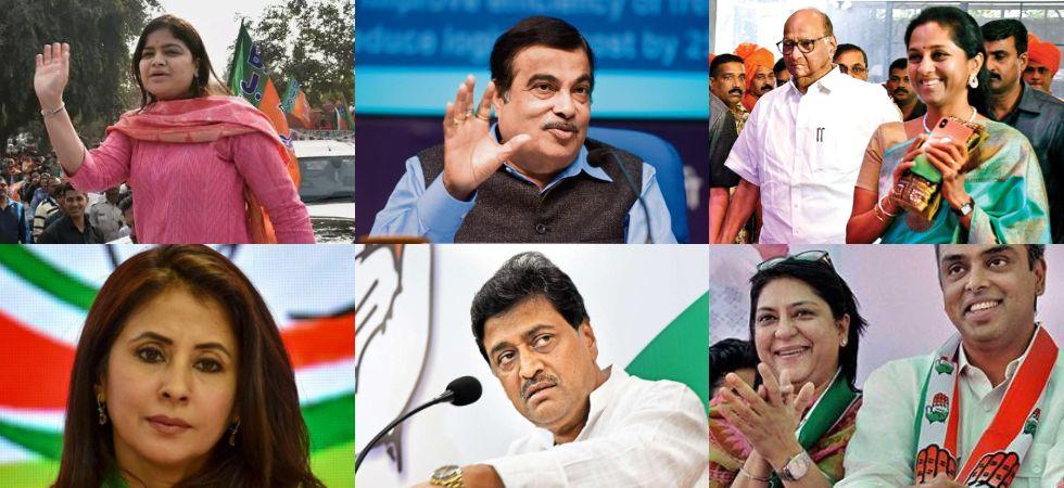 4b62a150c4e Lok Sabha Elections 2019  List of key candidates in Maharashtra s ...