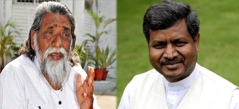 Shibu Soren and Babulal Marandi. (File Photo)