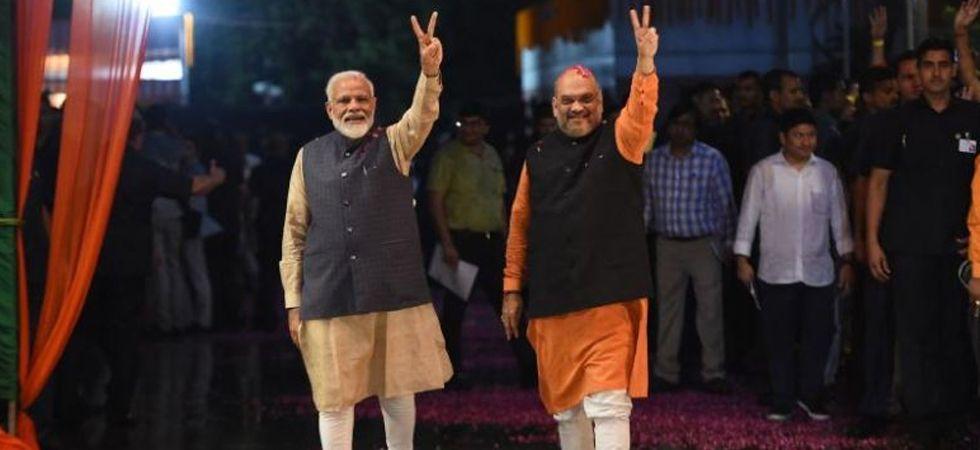 PM Modi and BJP chief Amit Shah