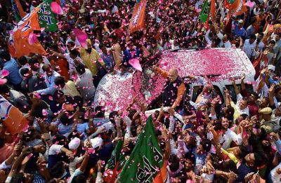 Gujarat bypoll results: BJP wins all 4 assembly constituencies, tally crosses century-mark