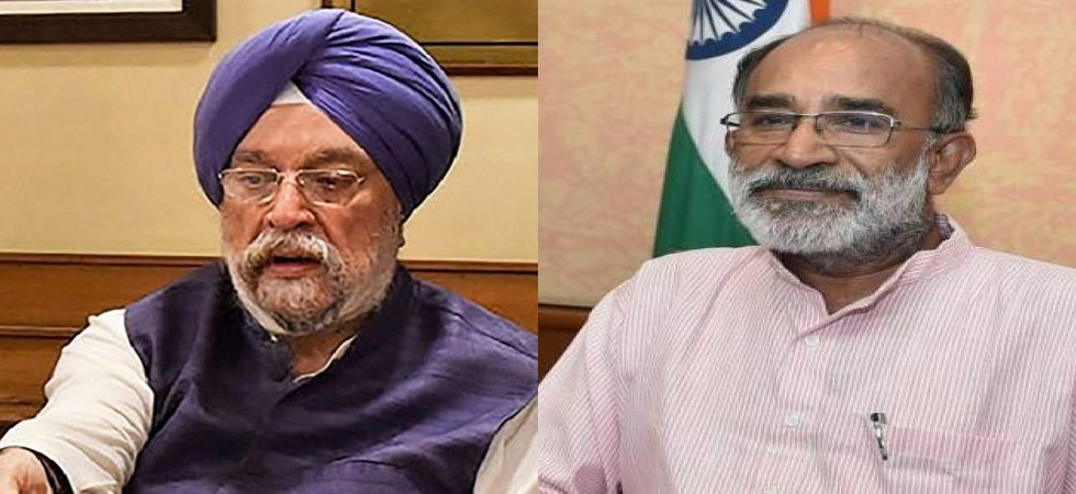 Union Ministers Hardeep Singh Puri and Alphons Kannanthanam. (File photos)