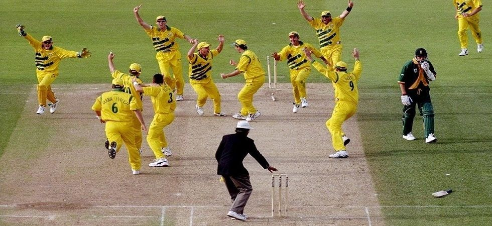 The semi-final clash between Australia and South Africa will go down in the history as greatest game of all time (Image Credit: Twitter)