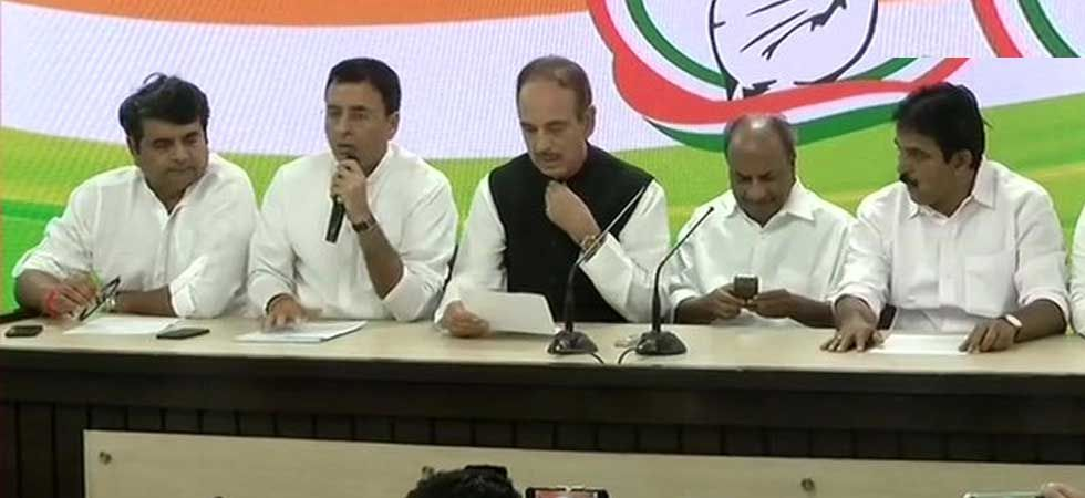 Congress performed miserably in the Lok Sabha elections and won just 52 of the 542 seats. (ANI Photo)