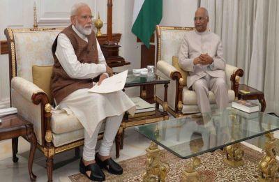 President Kovind invites Narendra Modi to form next government of India