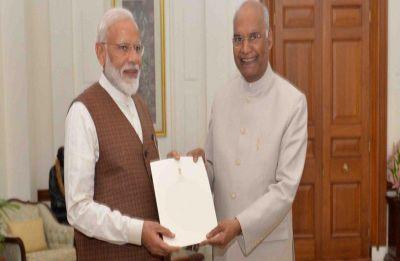 Narendra Modi named prime minister by President Ram Nath Kovind