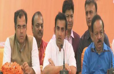 Hope Gambhir meets people on dusty roads, not cheat them by using duplicate: AAP