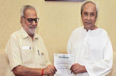 Naveen Patnaik elected leader of BJD legislature party, meets Guv to form next Odisha government