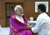 After spectacular win in Andhra, Jagan Reddy meets Narendra Modi in Delhi