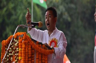 Sikkim Assembly elections 2019: SKM's PS Golay takes oath as new chief minister