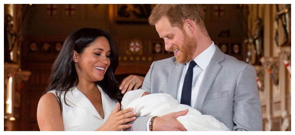 Meghan Markle and Prince Harry with Prince Archie (Photo: Instagram)