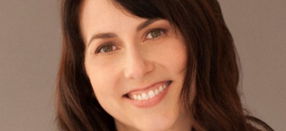 Forbes has yet to list MacKenzie Bezos on its list of billionaires, pending the finalization of the divorce. (MacKenzie Bezos/Twitter)
