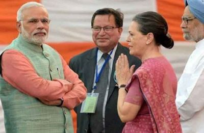 Sonia Gandhi to attend PM Modi's swearing-in ceremony today